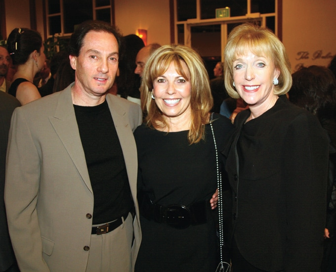 Franklin and Jean Gaylis with Andrea Oster.JPG