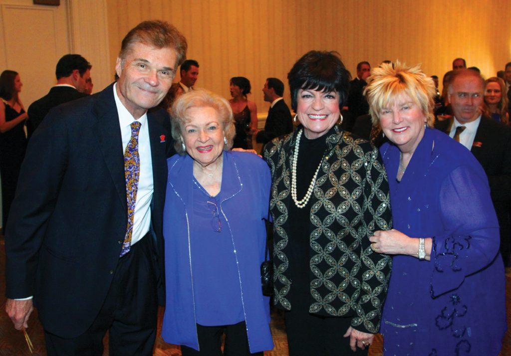 Fred Willard, Betty White, Jo Anne Worley, Mary Willard +++.JPG