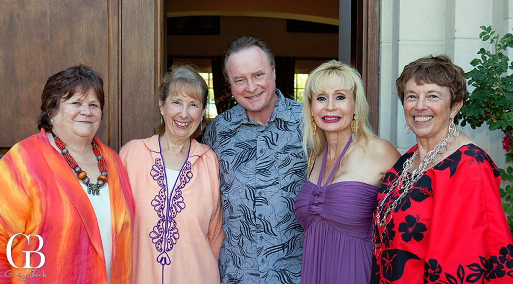 Fred and Laura Applegate with friends