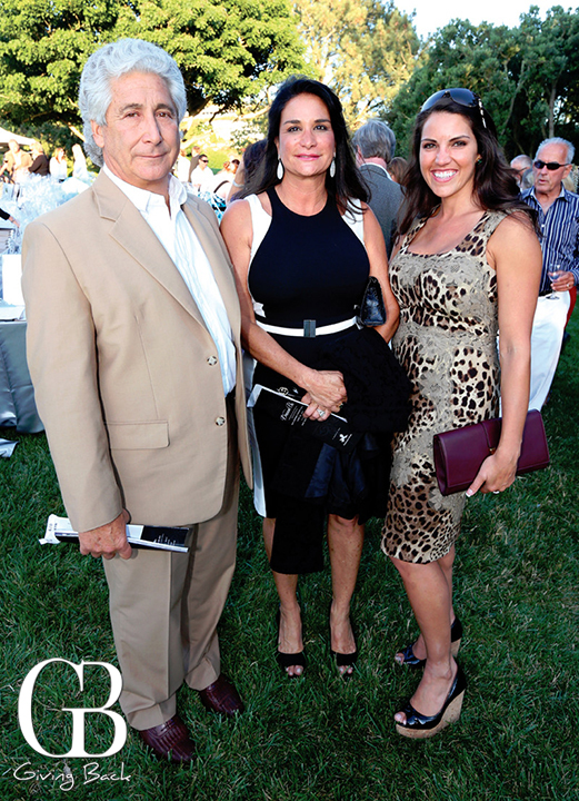 Fred and Nancy Borrelli with Rhea Iverson