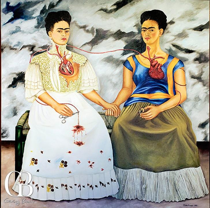 Frida Kahlo The Two Fridas