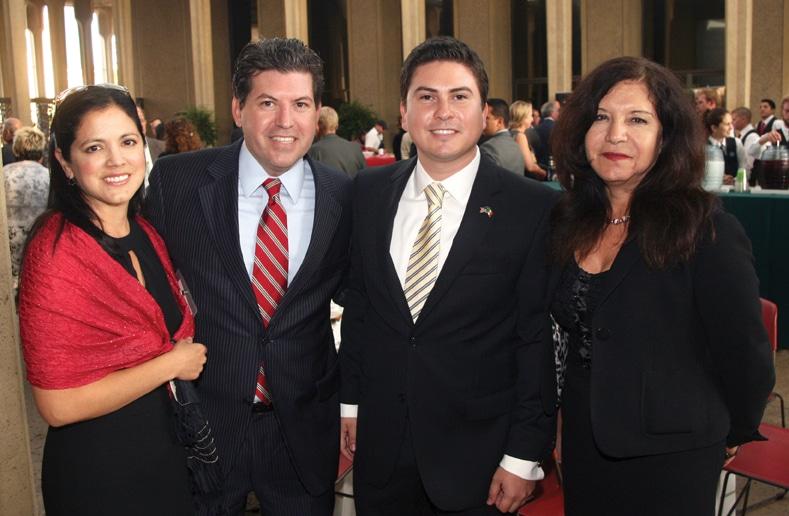 Gabirela and Miguel Vazquez with Alvaro Noriega and Virginia Perez Nieto.JPG