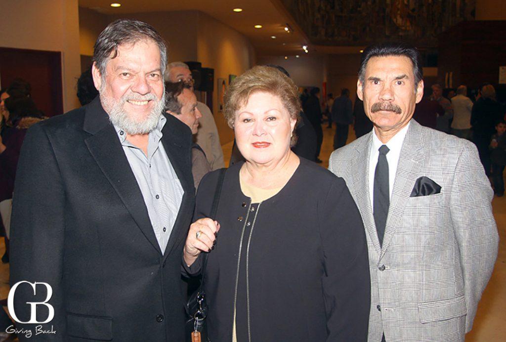 Gabriel Adame  Martha De La Fuente y Julio Cesar Abril