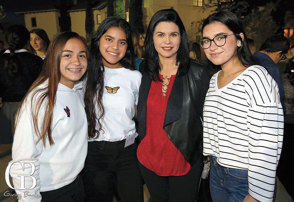 Gabriela Guerrero  Zinna Alameri  Ligia Amezcua and Zaynab Alameri