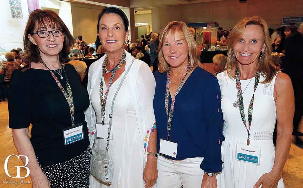 Gabriela Stratton  Carly Michaels  Anne Daigle and Donna Green