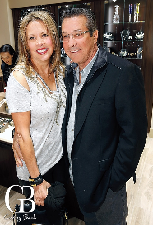 Gabriella Nava and Greg Stavros