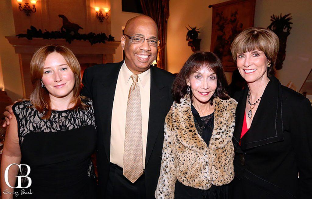 Gabrielle Durand  Don Wells  Patricia Benesh and Diane Cox