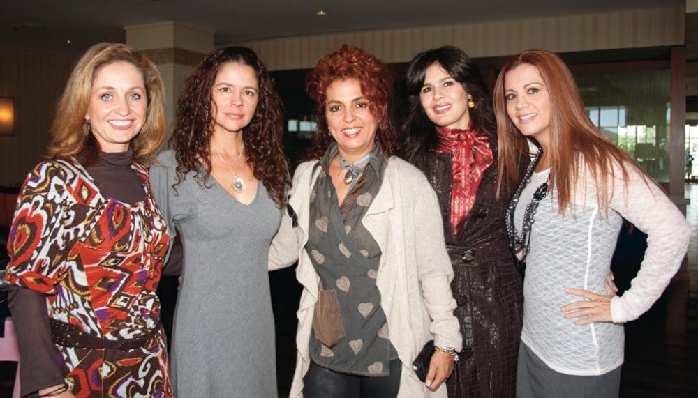 Gaby Hernandez, Lorena Monzon, Myriam Mamou, Cynthia Pompa, Guadalupe Aranda