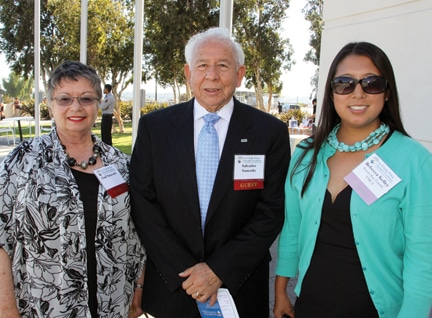 Gail and Salvador Saucedo with Rebecca Kelley.JPG