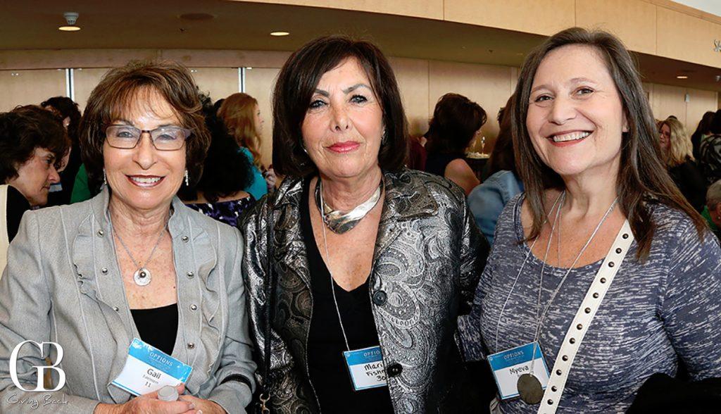 Gail Adelstein  Marilyn Fishman and Myeva Brett