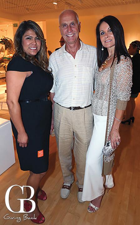 Gardenia Guzman with Michael and Rita Szczotka