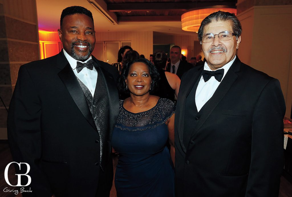 Garrett and Priscilla Reynolds with Richard Ybarra
