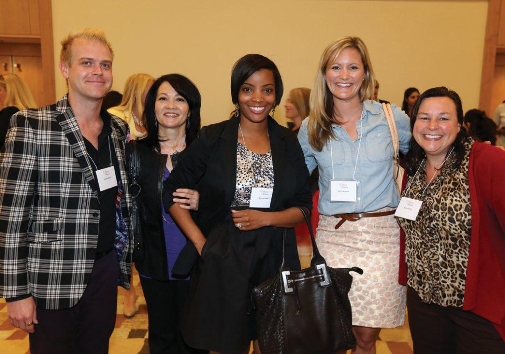 Gavon Morris, Donna Gough, Kenna Little, Diane Woerner and Karen Coutts.JPG