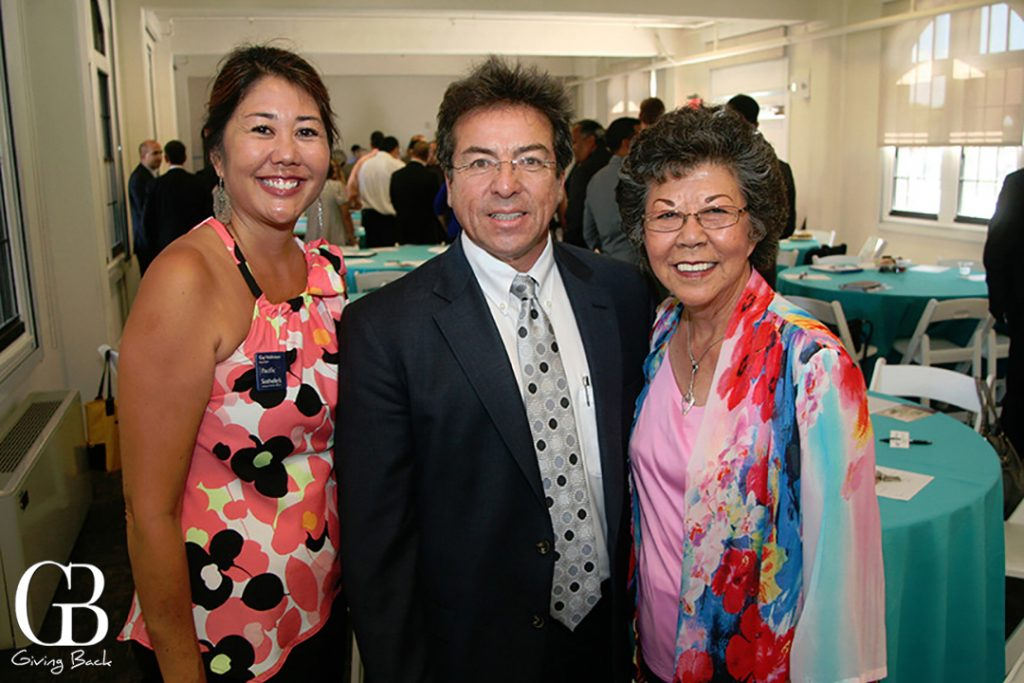 Gay Valdivieso  Miguel Aguirre and Grace Kojima