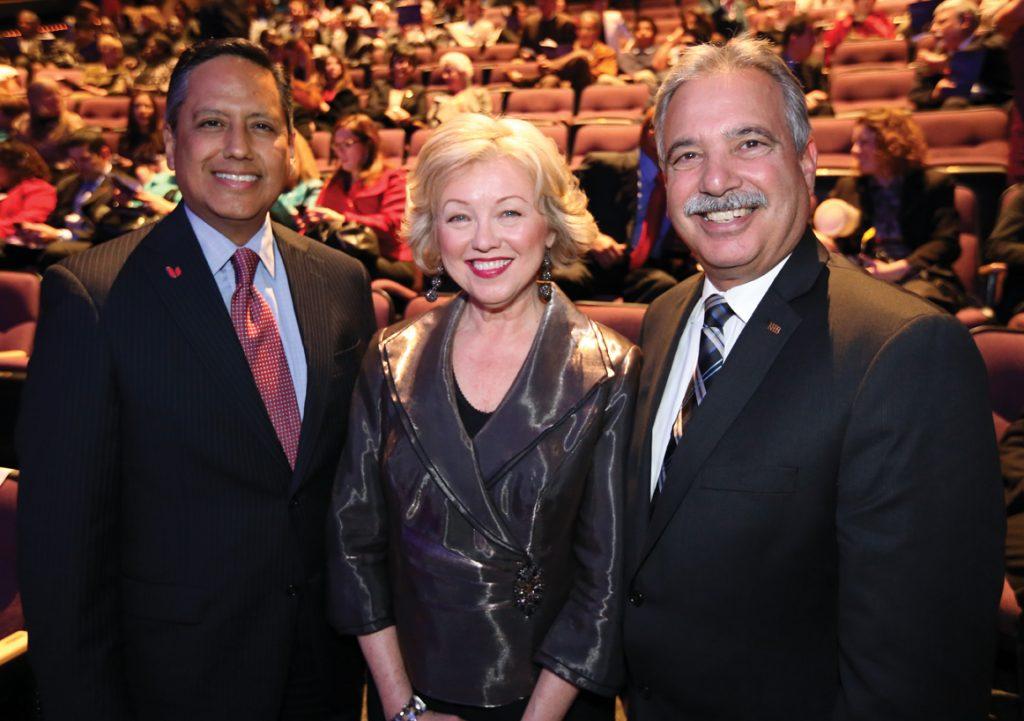 George Ramirez, Kathi Diamant and Tom Karlo.JPG