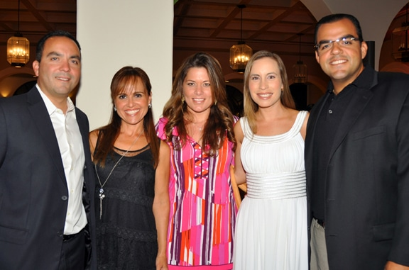 George, Rosa, Nancy and Carlos Walther Meade with Sofia Ariza.JPG