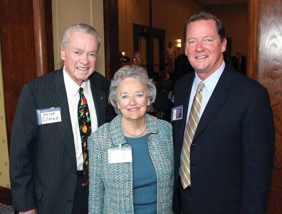 George and Alison Gildred with Brian Earley +.JPG