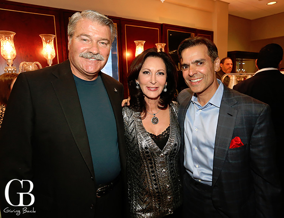George and Helene Gould with Vahid Moradi