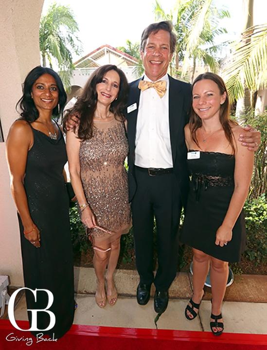 Geraldine D Silva  Elena Salsitz  Ken Cohen and Nicole Roman