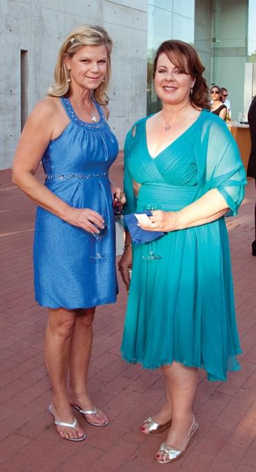 Gigi Fenley and Linda Howard