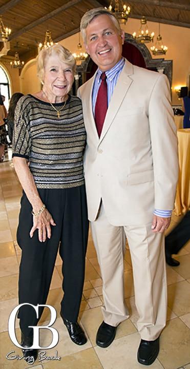 Gigi Cramer and Supervisor Dave Roberts