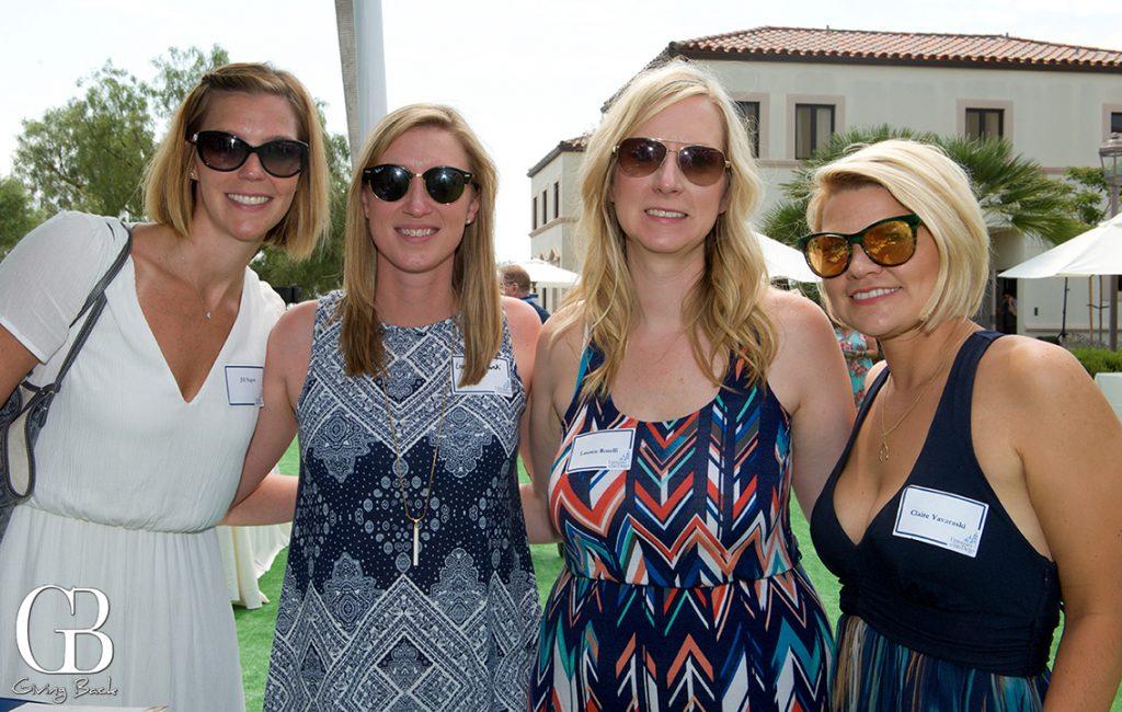 Gillian Sagan  Laura Gajawski  Lauren Roselli and Claire Yavaraski
