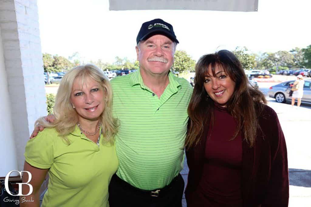 Gina and Al Jordan with Jolane Crawford