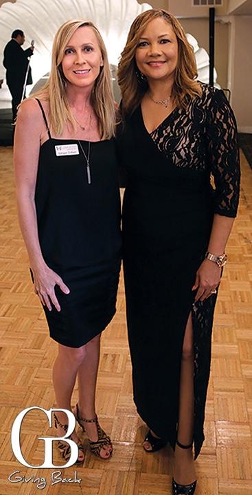 Ginger Cohen and Rachel Harris
