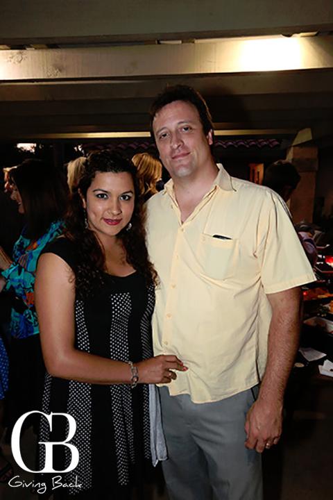 Gisella Garay and Ernesto Romero