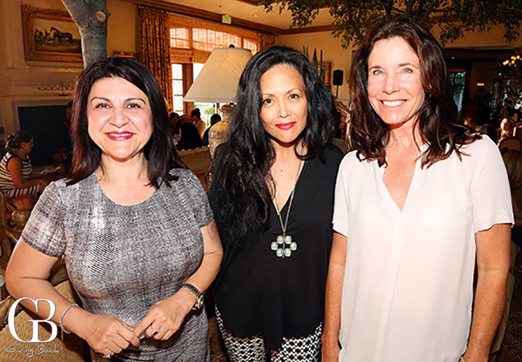 Gita Izadi  Lori Yeatter and Wendy Segal