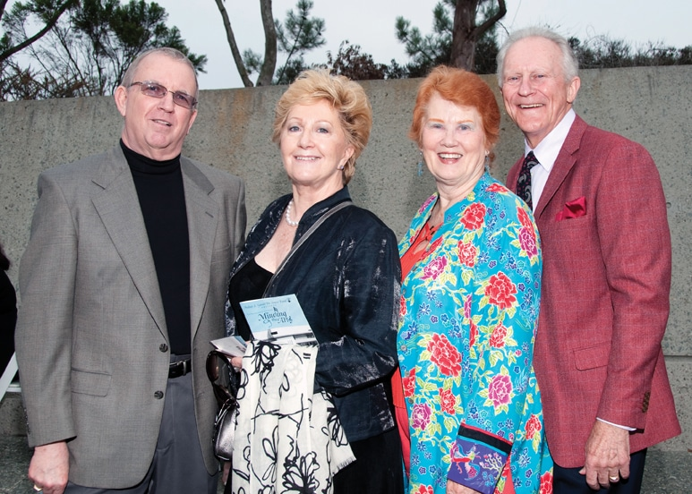 Glenn Butler and Sigrid Pate with Patti and Coop Cooprifer