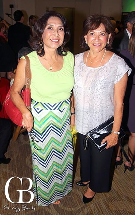Gloria Casillas and Chula Vista Mayor Mary Salas