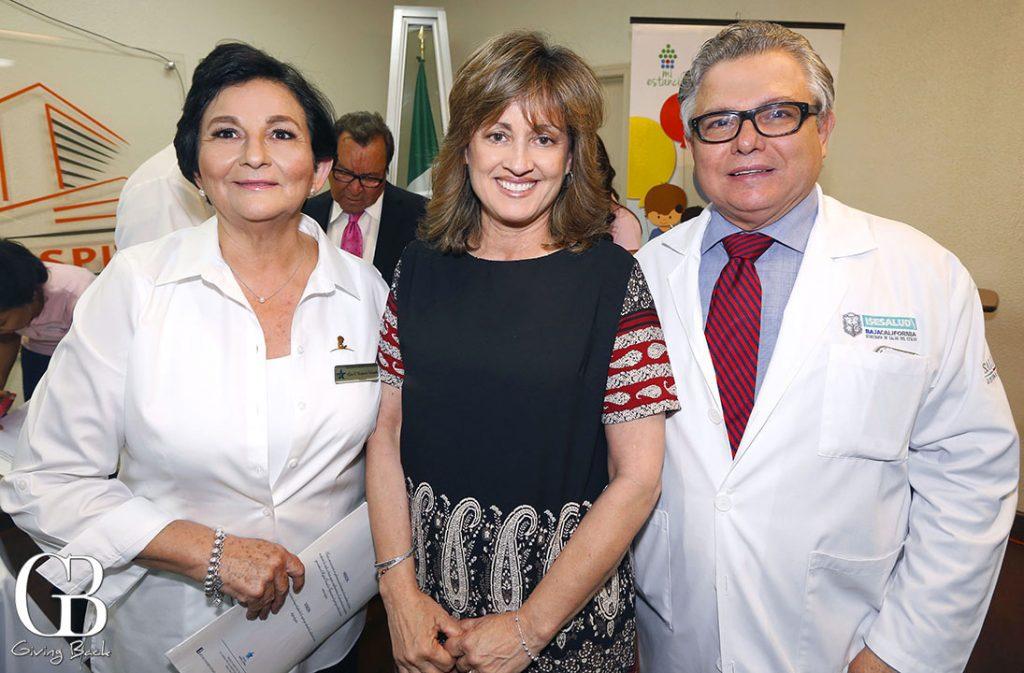 Gloria Elena Melforte  Maria Dolores Gastelum y Alfonso Valenzuela