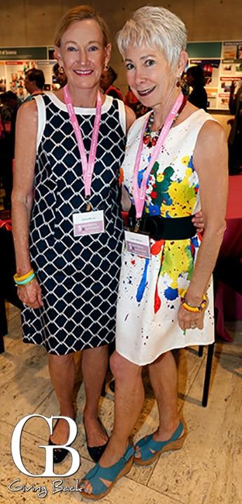 Gloria McCoy and Linda Balducci