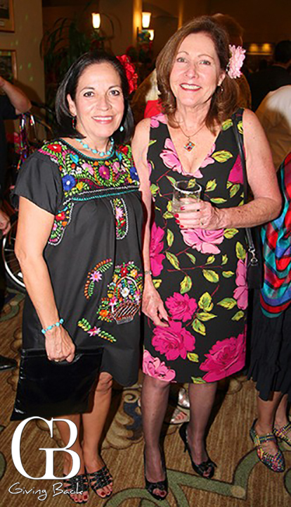 Gloria Ramsey and Diana Bates