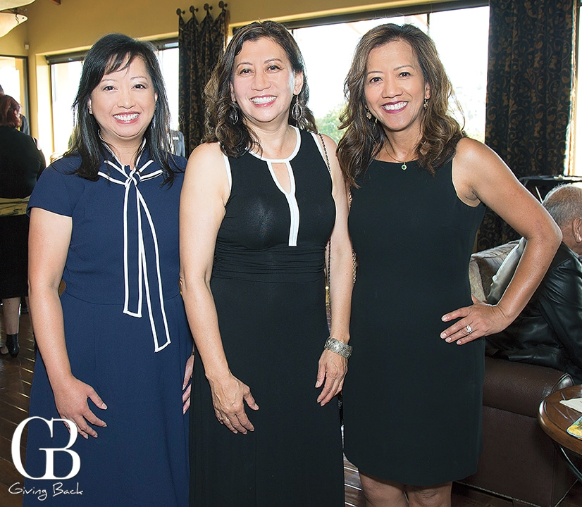 Grace Ferrer with Linda and Annabel Bianes