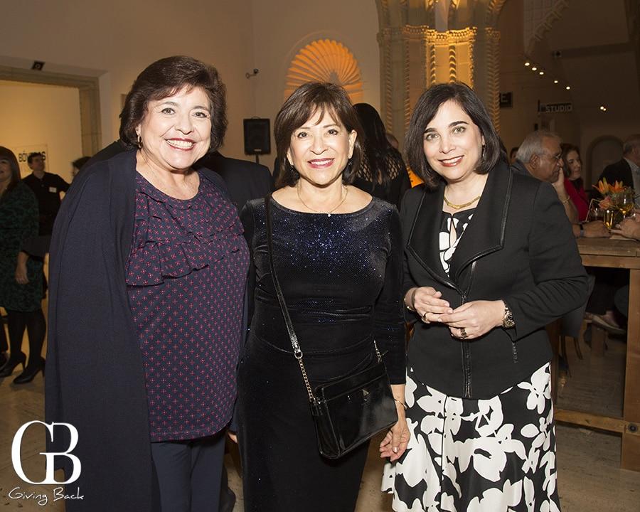 Graciela Platera  Mayor Mary Casillas Salas and Roxana Velasquez