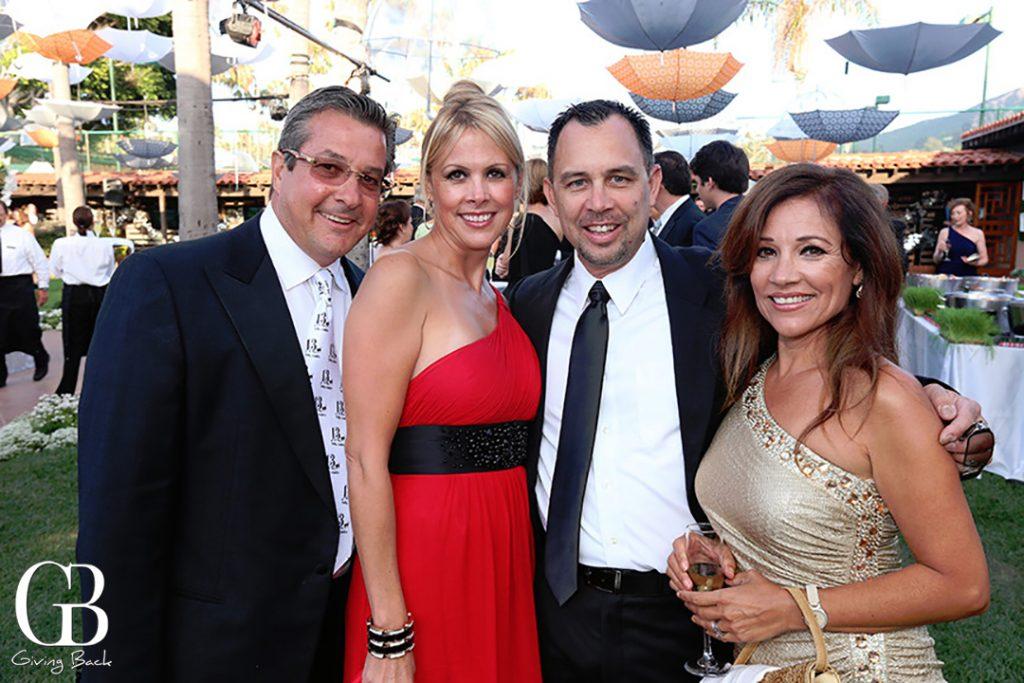 Greg Stavros  Gabriela Nava with Frank and Sandra Cozza