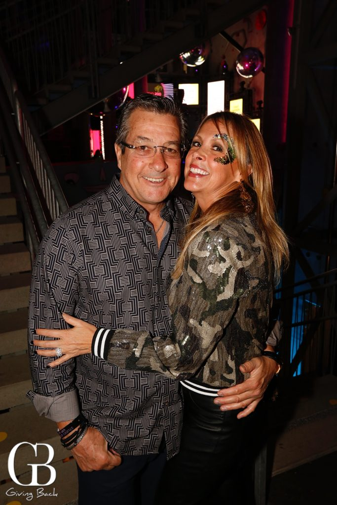 Greg Stavros and Gabriela Nava