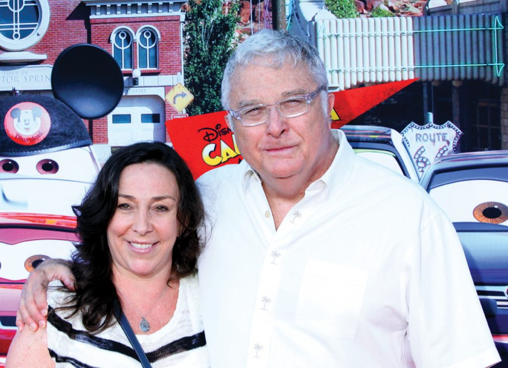 Gretchen Preece and Randy Newman.JPG