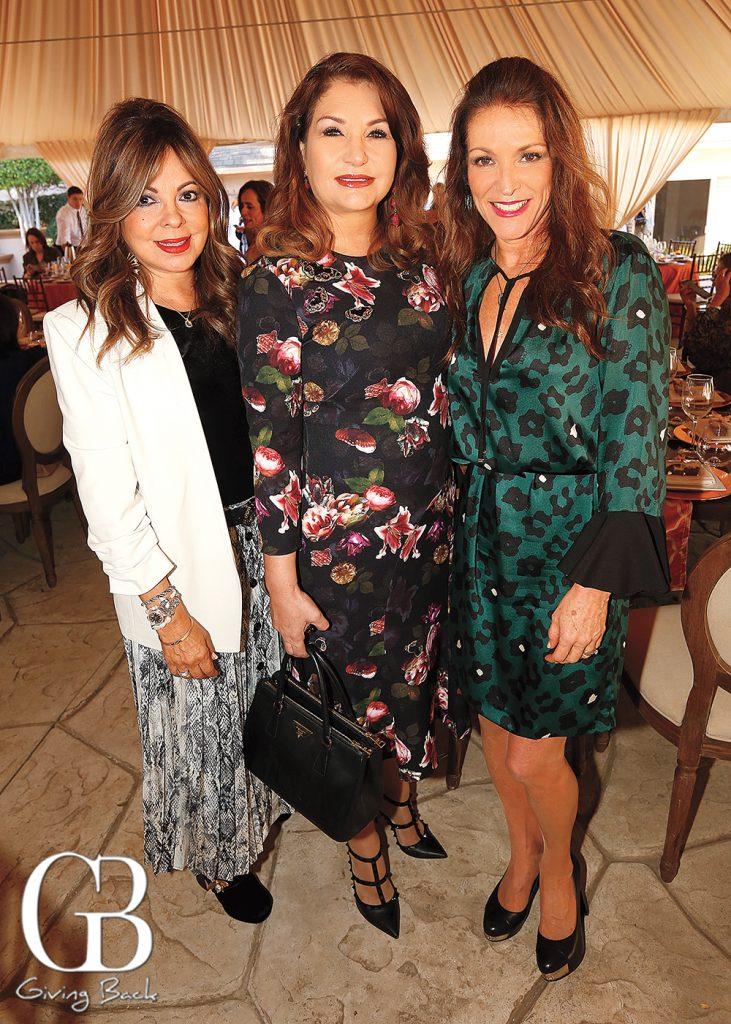 Griselda Mawhinney  Minerva Gonzalez and Yvone Jensen