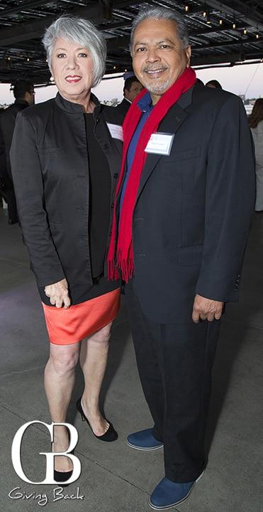 Guadalupe Gonzalez and Ramon Leyba