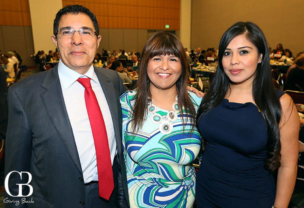 Hamid Mani  Ana Melgoza and Patty Martinez