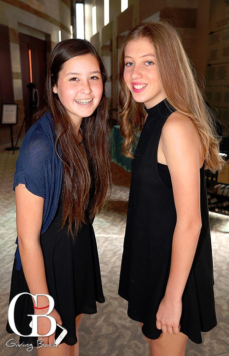 Hannah Marks and Sophia Keller