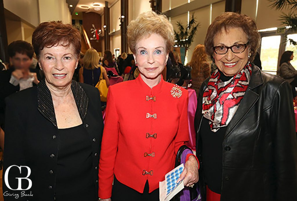 Harriette Kay  Ingrid Van Moppes and Arlene Schloss
