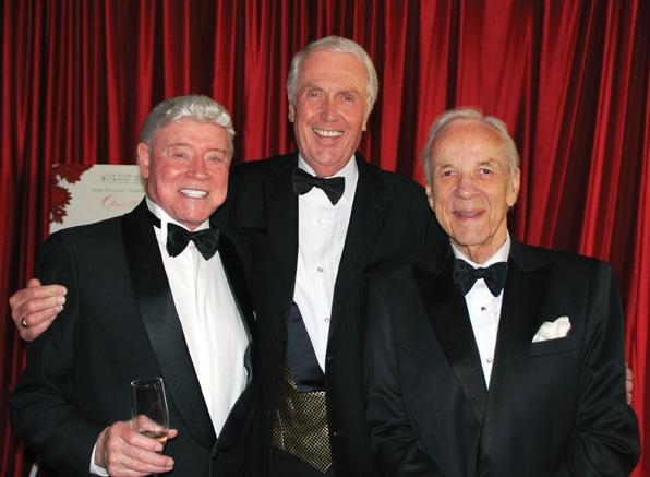Harry Cooper, Harvey White and Conrad Prebys