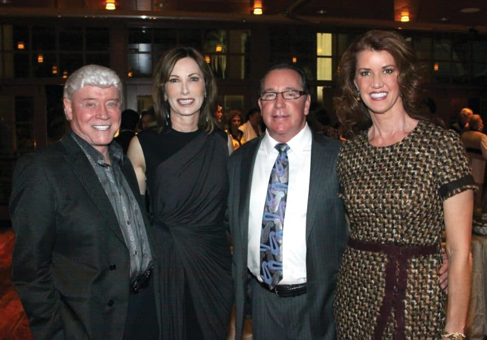 Harry and Valerie Cooper with Evva and Michael Fenison.JPG