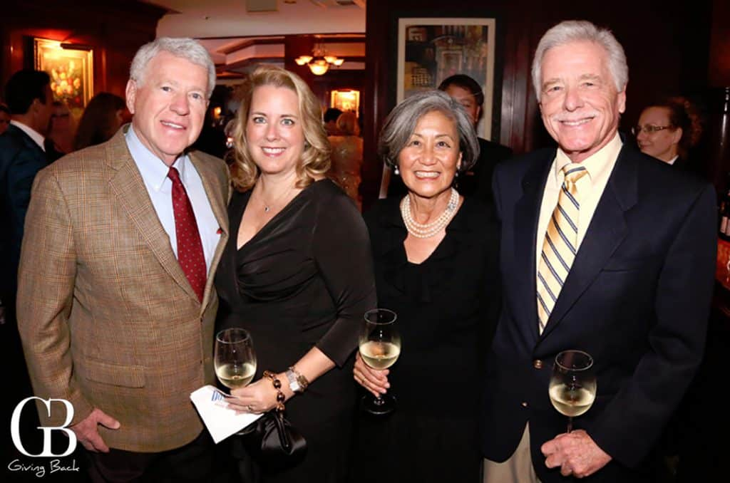 Harry and Teresa Hixson with Patricia and Jimm Clark