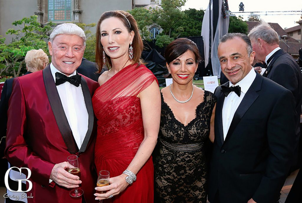 Harry and Valerie Cooper with Sandra and Sassan Alavi