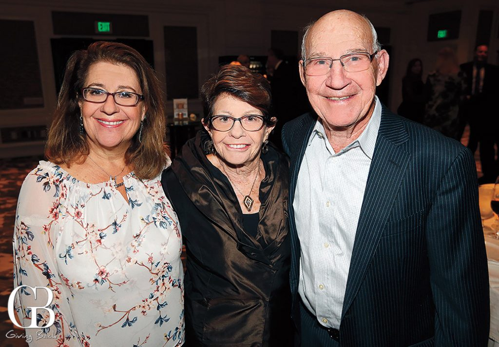 Hazel Alterman with Arlene and Louis Navias